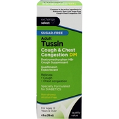 Exchange Select Adult Sugar Free Tussin Cough Liquid 4 oz.