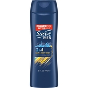 Suave Men Dual Charge 2 in 1 Hair and Body Wash