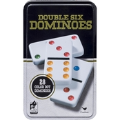 Cardinal Games Double 6 Dominoes