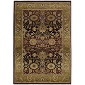 Oriental Weavers Generations Floral Traditional Rug, Gold, Plum
