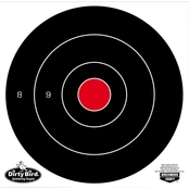 Birchwood Casey Dirty Bird 8 In. Bull's-eye Target, 25 Pk.