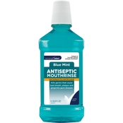 Exchange Select Antiseptic Mouthrinse Blue Mint 33.8 oz.