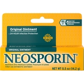 Neosporin Original Ointment For 24-Hour Infection Protection, .5 Oz.