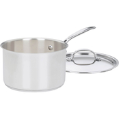 Cuisinart Chef's Classic Stainless Steel 4 qt. Covered Saucepan