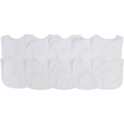 Gumballs White Feeder Bib Set 10 Pk.