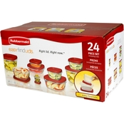 Rubbermaid Easy Find Lids 24 pc. Storage Container Value Set