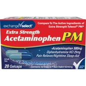Exchange Select Extra Strength Pain Reliever PM 20 ct.