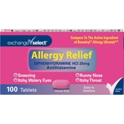 Exchange Select Complete Allergy Relief Tablets