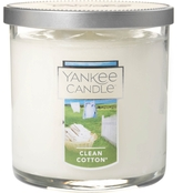 Yankee Candle Clean Cotton Small Tumbler Candle