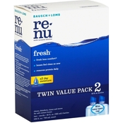 Bausch & Lomb Renu Fresh Multi-Purpose Contact Lens Cleaning Solution 2 Pk.