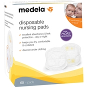 Medela Disposable Nursing Bra Pads Pkg. of 60