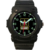Frontier Military Analog Watch