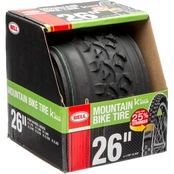 Bell Sports Traction Kevlar Mountain Bike Tire, 26 In. x 1.75-2.25 In.