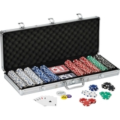 Fat Cat Texas Hold 'Em Poker Set