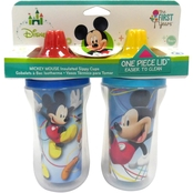 The First Years Disney Mickey Insulated 9 Oz. Sippy Cup 2 Pk.