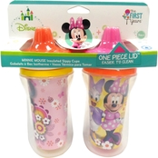 The First Years Disney Minnie Insulated 9 Oz. Sippy Cup 2 Pk.
