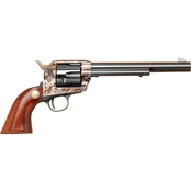 Cimarron Mod P 45 LC 7.5 in. Barrel 6 Rds Revolver Color Case Hardened