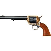 Cimarron US Cavalry 45 LC 7.5 in. Barrel 6 Rds Revolver Color Case Hardened