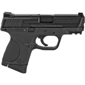 S&W M&P Compact 9mm 3.5 in. Barrel 12 Rnd 2 Mag Pistol Black