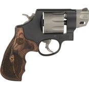 S&W 327 357 Mag 2 in. Barrel 8 Rnd Revolver Stainless Steel