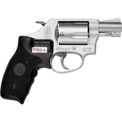 S&W 637 38 Special 1.875 in. Barrel 5 Rnd Revolver Stainless Steel CT Laser