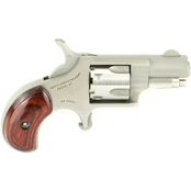 NAA Mini Revolver 22 Short 1.125 in. Barrel 5 Rnd Revolver Stainless Steel