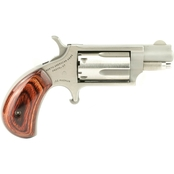NAA Mini Revolver 22 WMR 1.125 in. Barrel 5 Rnd Revolver Stainless Steel