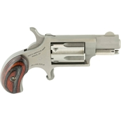 NAA Mini Revolver 22 LR 1.125 in. Barrel 5 Rnd Revolver Stainless Steel Lam