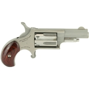 NAA Mini Revolver 22 LR 1.625 in. Barrel 5 Rnd Revolver Stainless Steel