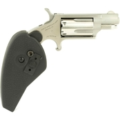 NAA Mini Revolver 22 WMR 1.125 in. Barrel 5 Rds Revolver Stainless Holster Grip