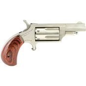 NAA Mini Revolver 22 WMR 1.625 in. Barrel 5 Rnd Revolver Stainless Steel