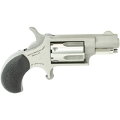 NAA Mini Revolver 22 LR 1.125 in. Barrel 5 Rnd Revolver Stainless Steel Rubber