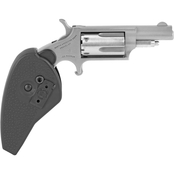 NAA Mini Revolver 22 WMR 1.625 in. Barrel 5 Rnd Revolver Stainless Holster Grip