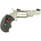 NAA Black Widow 22 LR 22 WMR 2 in. Barrel 5 Rnd Revolver Stainless Steel