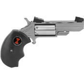 NAA Black Widow 22 LR 22 WMR 2 in. Barrel 5 Rds Revolver Stainless Steel AS