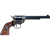 Heritage Rough Rider 22 LR 22 WMR 6.5 in. Barrel 6 Rnd Revolver Color Case Hardened