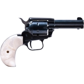 Heritage Rough Rider 22 WMR 22LR 3.5 in. Barrel 6 Rnd Revolver Blue with Pearl Grip