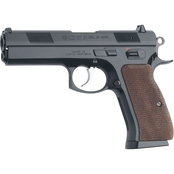 CZ 97B 45 ACP 4.5 in. Barrel 10 Rds 2-Mags Pistol Black with Wood Grips