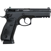 CZ 75 SP-01 Tactical 9MM 4.6 in. Barrel 18 Rds 2-Mags NS Pistol Black with Decocker