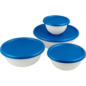 Sterilite 8 pc. Covered Bowl Set
