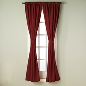 Simply Perfect Bradford 84 in. Window Curtain Panel 80 X 84 2 pk.
