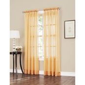 No. 918 Erica 51 X 84 Crushed Voile Curtain Panel
