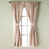 Simply Perfect Bradford 63 in. Window Curtain Panel 80 x 63 2 Pk.
