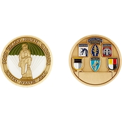 Challenge Coin Fort Bragg Coin