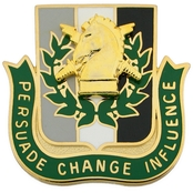 Army Psychological Operations (PO) Regimental Crest