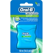 Oral-B Complete SatinFloss, Mint, 50 M. 54.60 Yd.