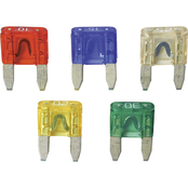 Custom Accessories Assorted Mini Flat Fuses 5 Pk.