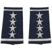 Air Force General, Shoulder Marks Slide-On, Small