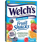 Welch's Fruit Snacks Mixed Fruit 10 ct.