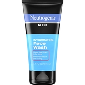 Neutrogena Men Oil-Free Invigorating Foaming Face Wash 5.1 Oz